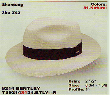 Bentley by Stetson hats
