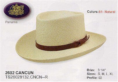 Cancun by Stetson hats