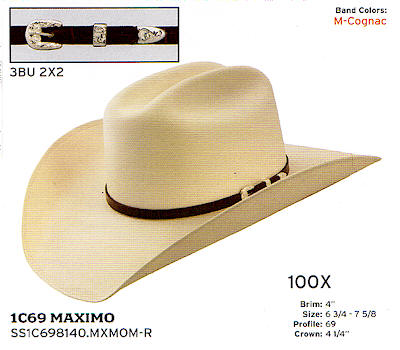 Maximo by Stetson hats