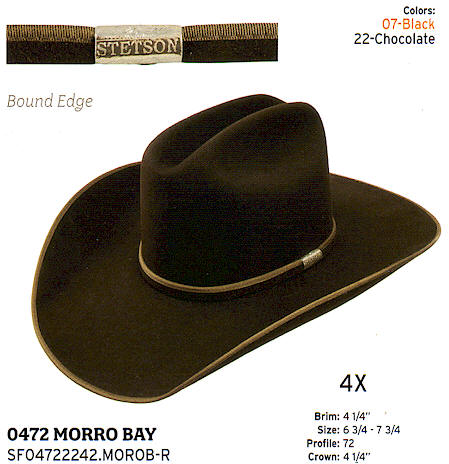 Morro Bay by Stetson hats