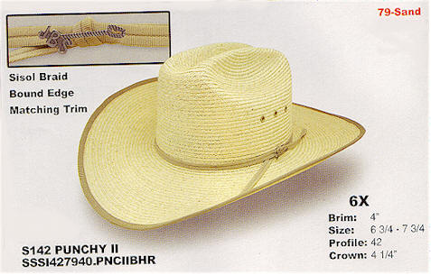 Punchy II from Stetson hats