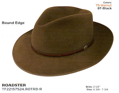 Roadster by Stetson hats