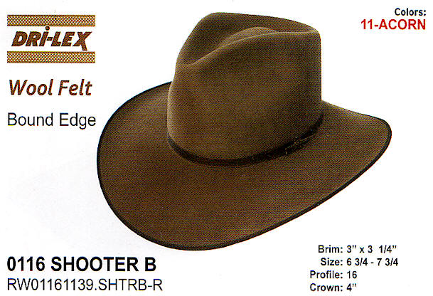 Shooter B hat