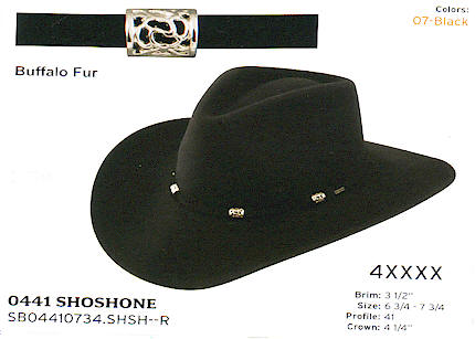 Shoshone by Stetson hats