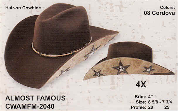 Almost Famous by Charlie 1 Horse Hats