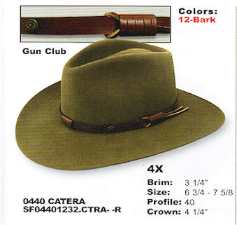 Catera by Stetson hats
