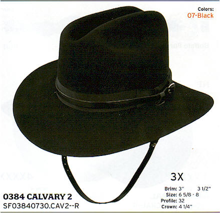 Calvary 2 by Stetson hats