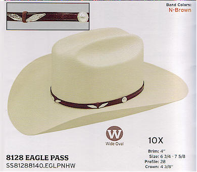 Eagle Pass by Stetson hats