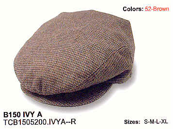 Driving Caps from Stetson - Ivy A