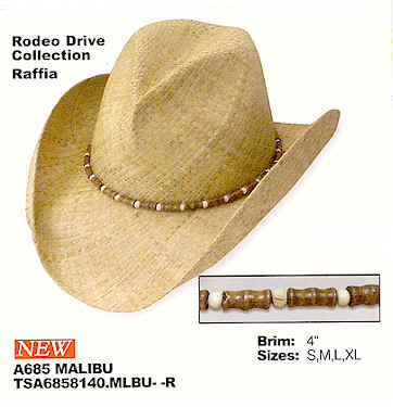 Malibu by Stetson - Rodeo Drive Collection