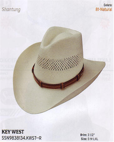 Key West by Stetson hats