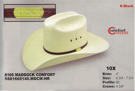 Maddock Comfort by Stetson