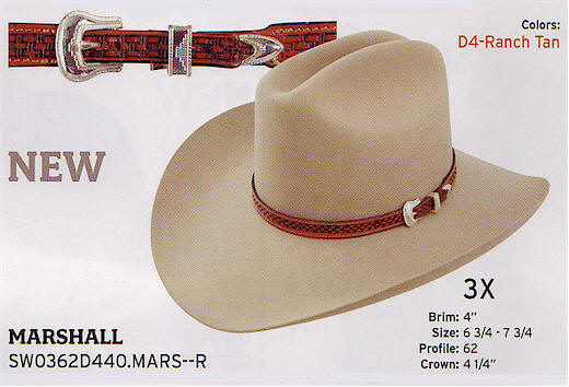 Marshall by Stetson hats