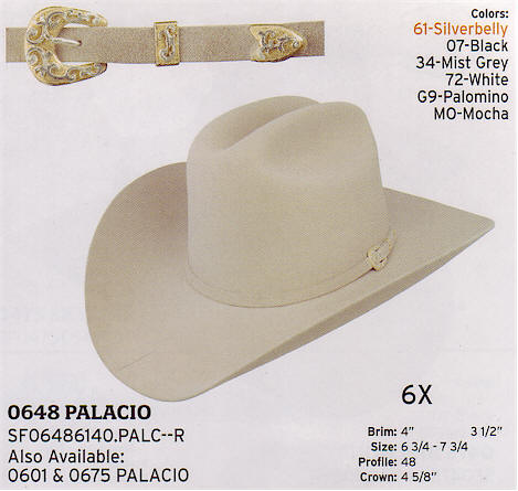 Palacio by Stetson hats