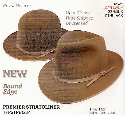 Premier Stratoliner by Stetson Hats