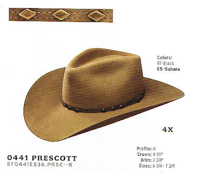 Prescott by Stetson  hats
