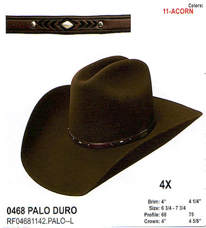 Palo Duro by Resistol hats