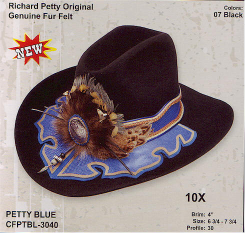 Richard Petty Blue by Charlie One Horse hats