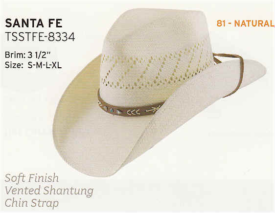 Santa Fe by Stetson hats