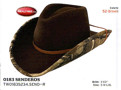 Senderos from Stetson hats