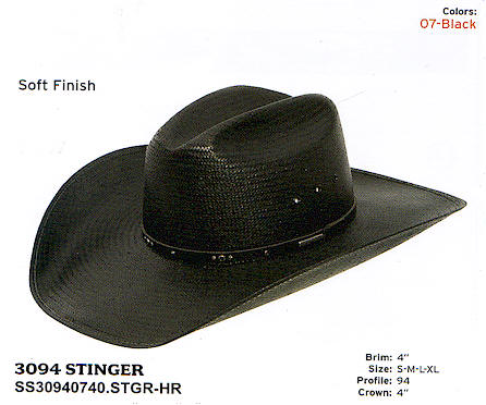 Stinger by Stetson hats