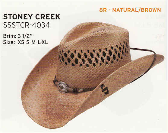 Stoney Creek by Stetson hats