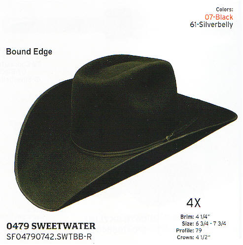 Sweetwater by Stetson hats